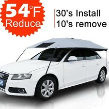 Car Sun Shade Cover Umbrella Roof Travel Universal UV Protection Outdoor Cooling