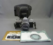 Minolta SR-T 101 35mm SLR Film Camera Body & Rokkor 55mm 1.7 Lens