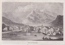 1876  --  HAWAI  VUE DE HONOLULU   3J533