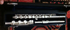 Jupiter 611B Flute Silver Open Hole B-Foot Silver Head L@@K!!!!!!