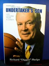 "Signed Book by DIGGER PHELPS ""Undertaker's Son"" 2007 1st ed. - Notre Dame"