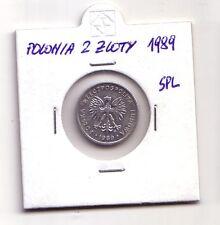 Polonia Polska   2 zloty  1989     SPL    (m97)
