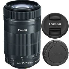 Canon EF-S 55-250mm f/4-5.6 IS STM T5i T3 T5 T6s 6i 80D Ext Cyber Monday SALE
