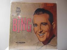 "BING CROSBY - THE BEST OF - MCA2--4045 - 2 LP SET - GATE FOLD COVER - ""SEALED"""