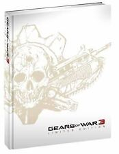 Gears of War 3 Limited Edition by BradyGames Staff (2011, Hardcover)