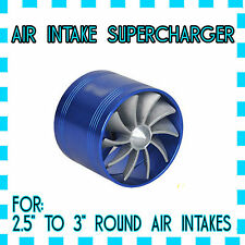 TURBO FAN AIR INTAKE SUPERCHARGER MAXIMIZER PERFORMANCE ENGINE (AUDI A3 2.0)