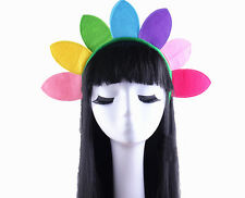 Sunflower Sun Flower Plant Colourful Headband Hair Band Costume Fancy Dress New