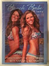 Beach Babe By Tone It Up - 7 Toning Workouts with Karena & Katrina DVD Brand New