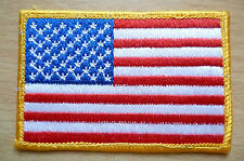 Patches: NATIONAL WORLD COUNTRY UNITED STATES FLAG PATCH (NEW,apx.3.8x2.6 inch)