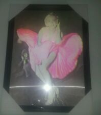 Marilyn 3D Wall Art Picture hologram effect - with lipstick