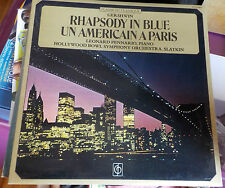 RHAPSODY IN BLUE , UN AMERICAIN A PARIS - GERSHWIN - 33 TOURS