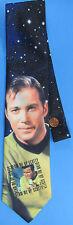 TIE '94 vtg Star Trek TOS - Capt KIRK Beam Me Up Scotty William Shatner necktie