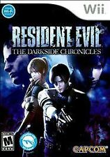 Resident Evil: The Darkside Chronicles (Nintendo Wii, 2009) Rated M17+