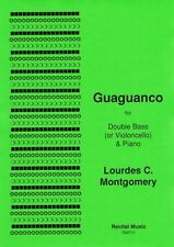 Montgomery: Guaguanco for double bass & piano RM711