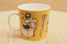 Arabia Finland Moomin Office Coffee/Tea Mug/Cup Yellow Moominmamma Character EUC