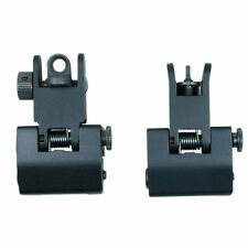 Tactical Micro Flip Up Rapid Transition Front and Rear Iron Sight Set
