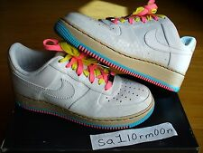 Nike Air Force 1 Anniversary sz 9  cement XI laser tiff space dunk quick strike