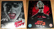 Sin City 1 + 2 A Dame to kill for 3D | 2x Blu-Ray Steelbook Edition NEU NEW OVP