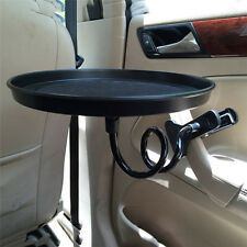 Auto Car Swivel Mount Holder Travel Drink Cup Coffee Table Stand Food Tray