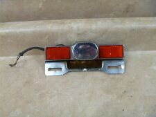 Honda 750 VT SHADOW VT750 Used Rear License Plate Light 1983 Vintage #HB85