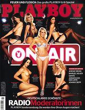 Playboy Juni/06/2013  DEUTSCHLANDS SCHÖNSTE RADIO MODERATORINNEN*