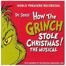 Dr Seuss - How The Grinch Stole Christmas (2013) - New - Compact Disc