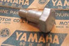 YAMAHA MX100  DT100  RT100  GENUINE  NOS  PROP  STAND  BOLT - # 90109-08030/31