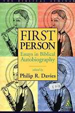 Davies, Philip R (ed) FIRST PERSON, ESSAYS IN BIBLICAL AUTOBIOGRAPHY Paperback B