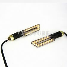 Cool Knife Universal motorcycle LED Turn Signals Light Blinker Amber Indicator