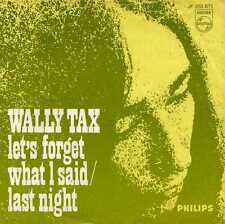 """WALLY TAX """"LET'S FORGET WHAT I SAID"""" ORIG HOLL 1967 MOD OUTSIDERS"""