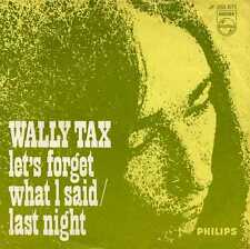 "WALLY TAX ""LET'S FORGET WHAT I SAID"" ORIG HOLL 1967 MOD OUTSIDERS"