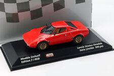 LANCIA Stratos Stradale Anno di costruzione 1974 Rosso Auto Hebdo 1:43 Minichamps