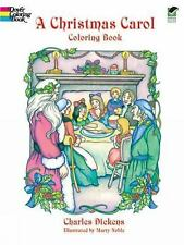 Dover Holiday Coloring Book: A Christmas Carol Coloring Book by Charles...