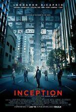 """INCEPTION -  2010 - orig D/S 27x40 movie poster - LEONARDO DICAPRIO - Style """"A"""""""