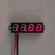 "0.28"" 4.00-30V DC 4 Digital LED Voltmeter Panel Volt Meter 5v 9v 12V 24V car R-"