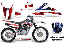 Honda CRF 150/230f Graphic Kit AMR Racing # Plates Decal Sticker Part 08-13 SAS