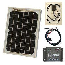 5w Panel Solar Kit / Cargador Para 12v batería Auto, Camioneta, Moto, Barco