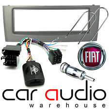 FP-01-07 Fiat Grande Punto 2005  Car Stereo Fascia Steering Wheel Stalk Kit Grey