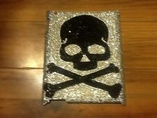 NEW Bling®  iPad 2,3,4 Rhinestone Crystal  Case Cover SKULLS & BONES skateboard