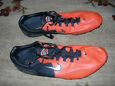 NIKE Zoom Shift Series Track & Field Shoes Size 14 Orange And Black