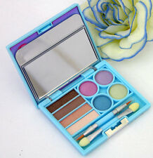 Hard Candy Jewel Box Compact Palette Eye Shadow Lip Gloss Brushes Old Skool