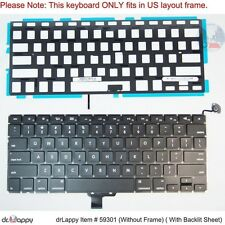 Apple US Black Backlit Keyboard for MacBookPro7,1 2010 13""
