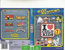 I Love Cult Kids-Danger Mouse/Count Duckula ++[7 Cult Classics]-Animated CC-DVD