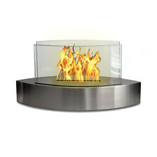 Anywhere Fireplace Lexington Stainless Steel Fireplace Ethanol Fuel Smokeless