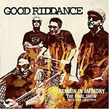 "GOOD RIDDANCE ""REMAIN IN MEMORY THE FINAL..."" CD NEU"