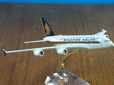 SINGAPORE AIRLINES AIRBUS A380 Passenger Airplane Plane Metal Diecast Model C