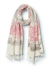 Quiksilver Beach Road White One Size Woman Scarf