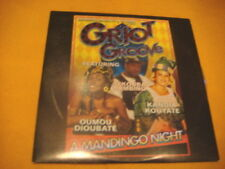 Cardsleeve Single CD GRIOT GROOVE A Mandingo Night PROMO 3TR 1998