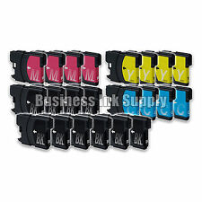 22 PK New LC61 Ink Cartridge for Brother Printer MFC-490CW MFC-J415W MFC-J615W