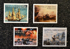 USA War of 1812 Set of 4  4703 4805 4921 4952 Mint constitution erie battle lake